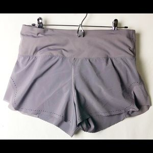 Run a marathon lilac Lululemon shorts